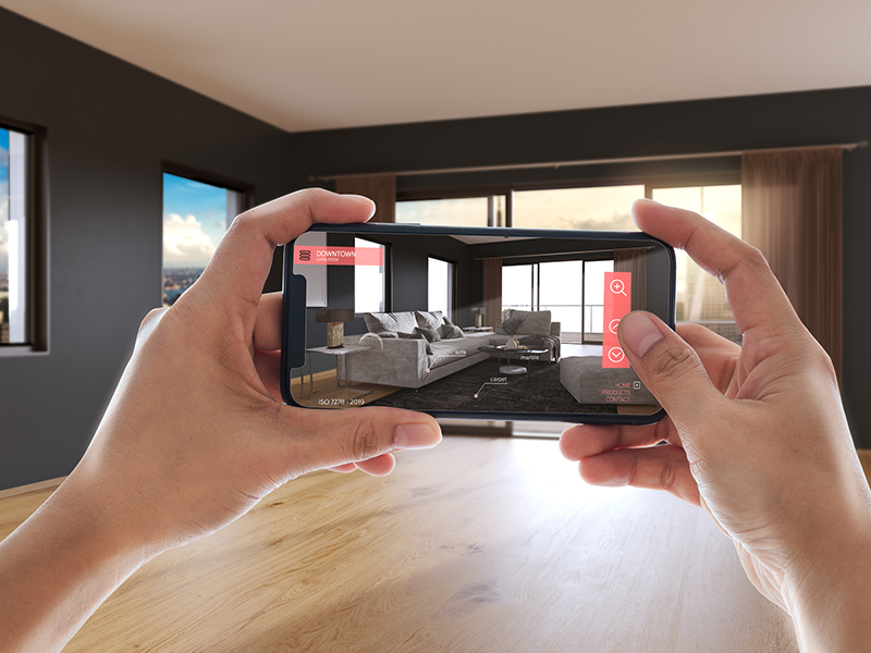 Furniture in Augmented Reality AR