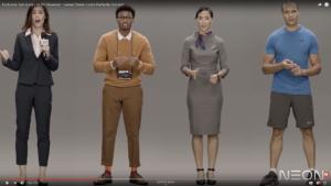 Samsung Artificial Human Examples